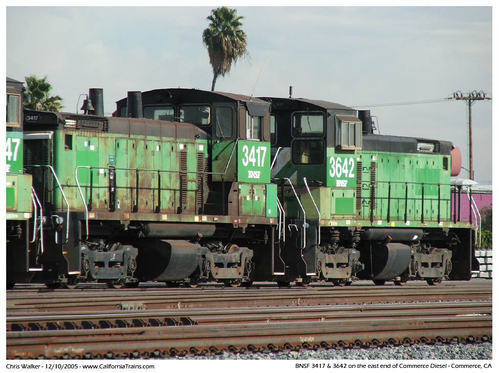 Photos, Trains - City of Commerce, California - Updated 07/08/06