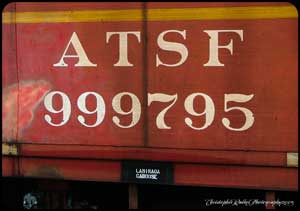 ATSF 999795 the official LaMirada Caboose.