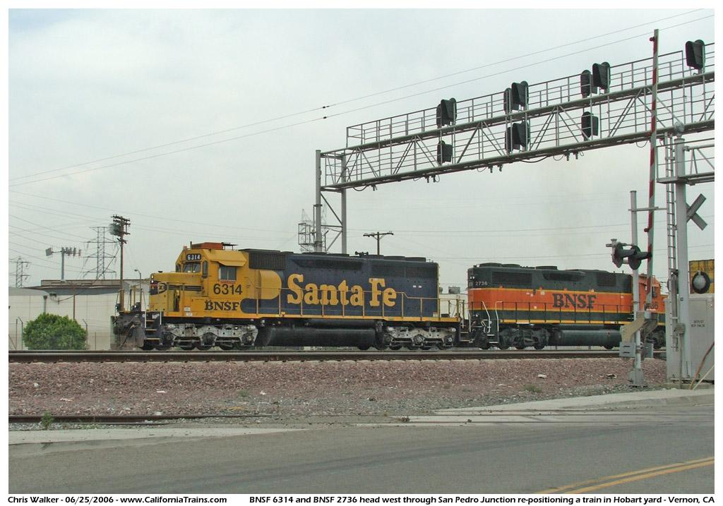 Photos, Trains - Vernon, California - Updated 07/11/2006